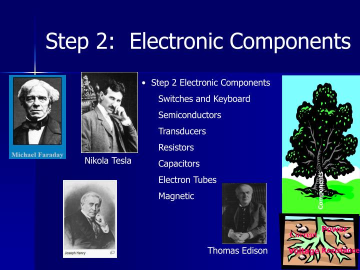 Step 2:  Electronic Components