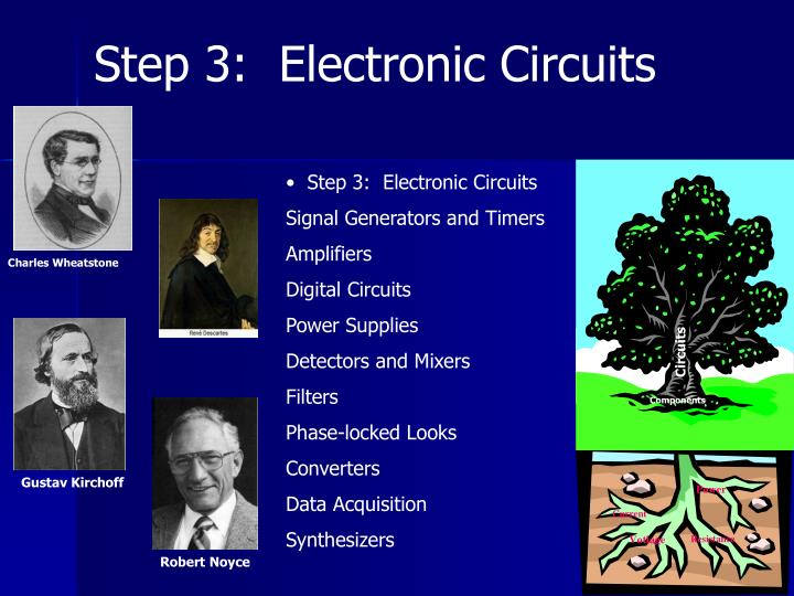 Step 3:  Electronic Circuits