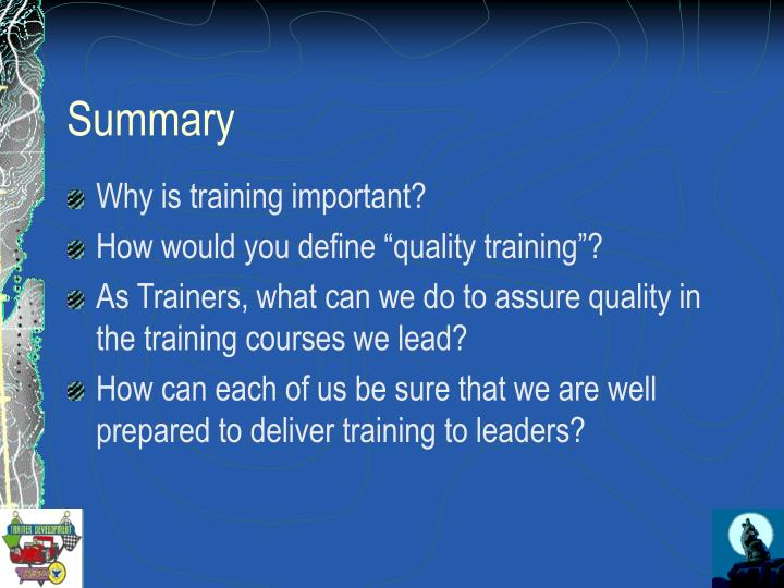 the importance of training to quality Thought leadership read the latest part of the ebook on repositioning the profession learn about the cqi competency framework and get cqi policy updates on brexit.