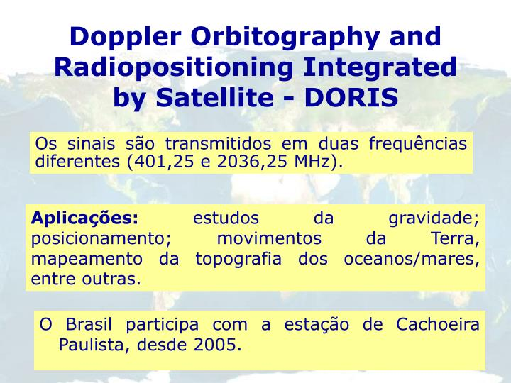 Doppler Orbitography and Radiopositioning Integrated by Satellite -