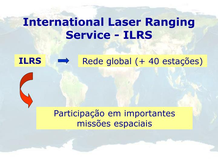 International Laser Ranging Service - ILRS