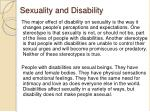 sexuality and disability