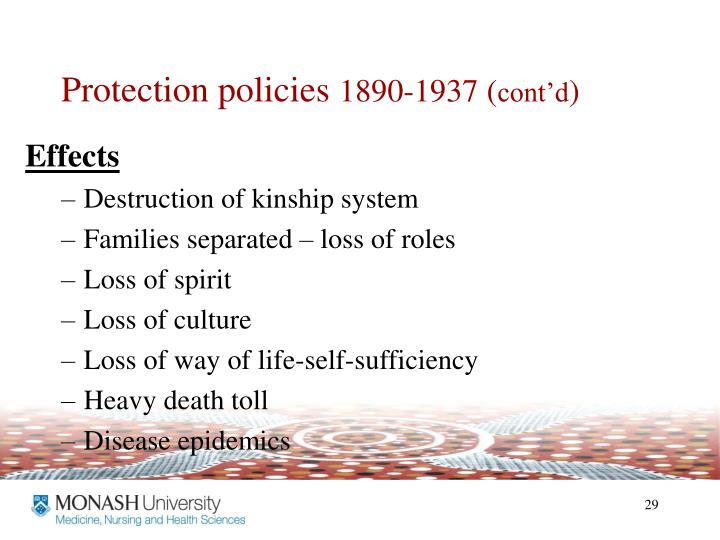 Protection policies