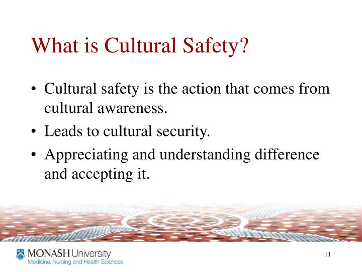 What is Cultural Safety?