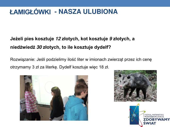 - NASZA ULUBIONA