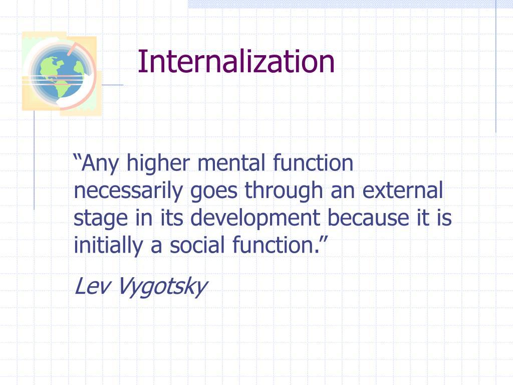 Internalization