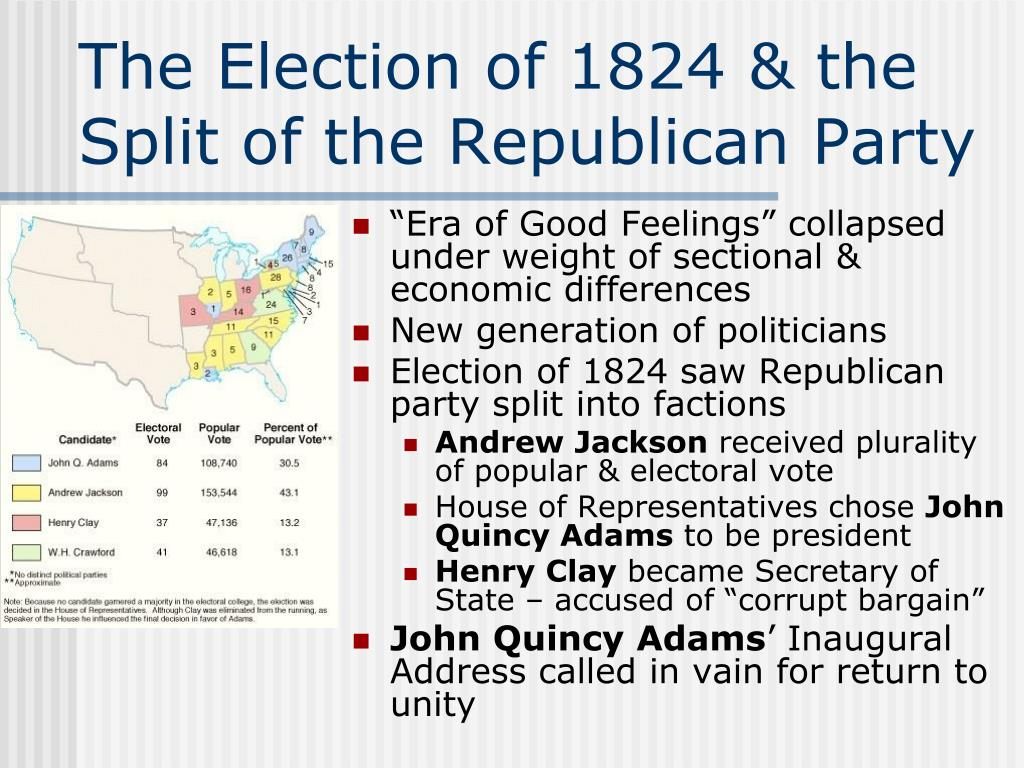 "election of 1824 The election is in the house: was there a ""corrupt bargain"" o'rien us history 1 preap/p 2 