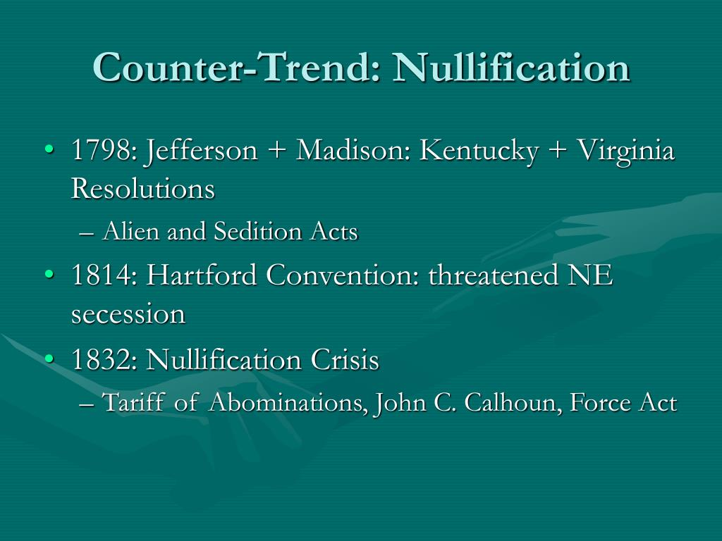 Counter-Trend: Nullification