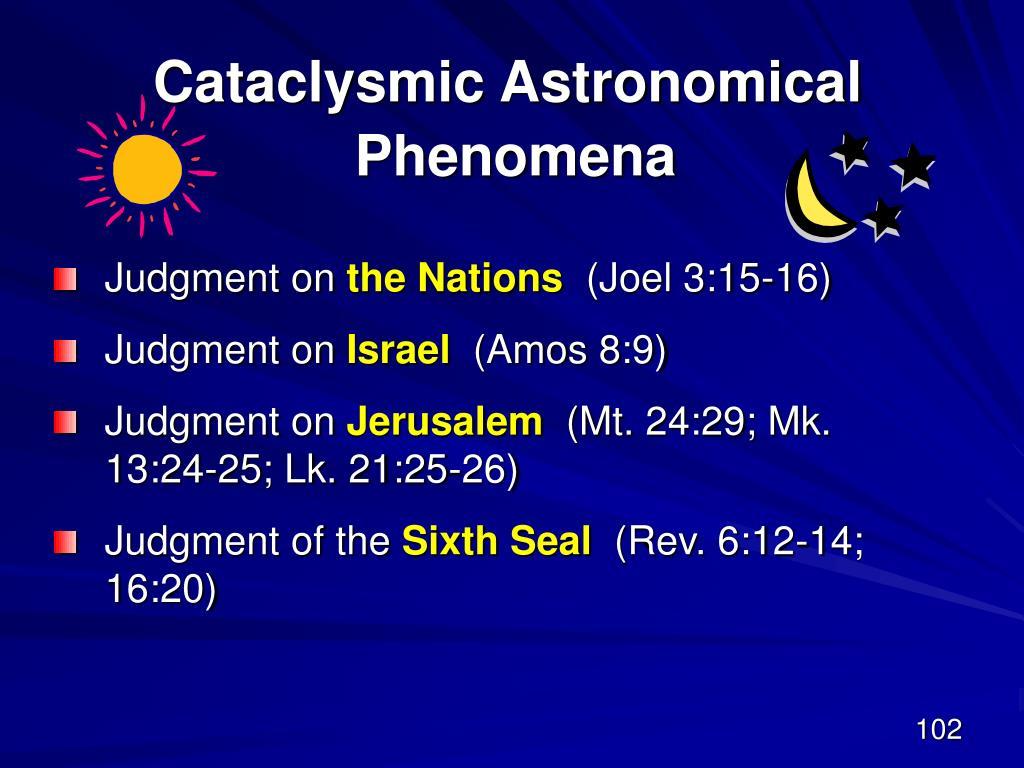 Cataclysmic Astronomical