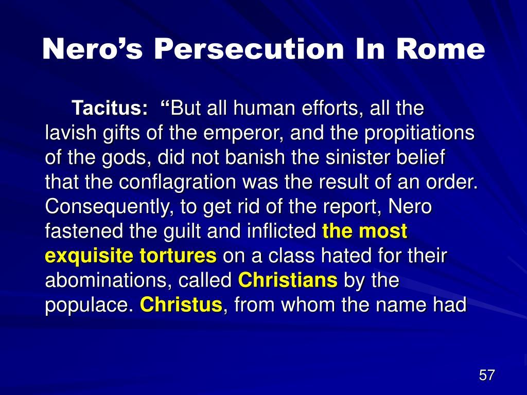 Nero's Persecution
