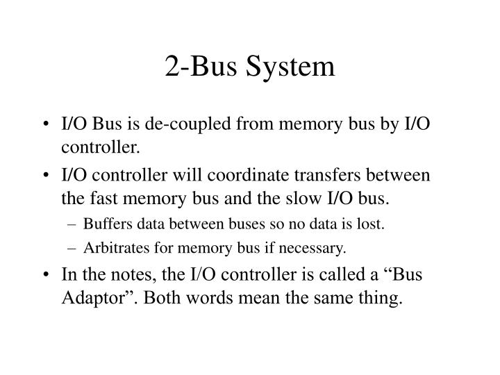 2-Bus System