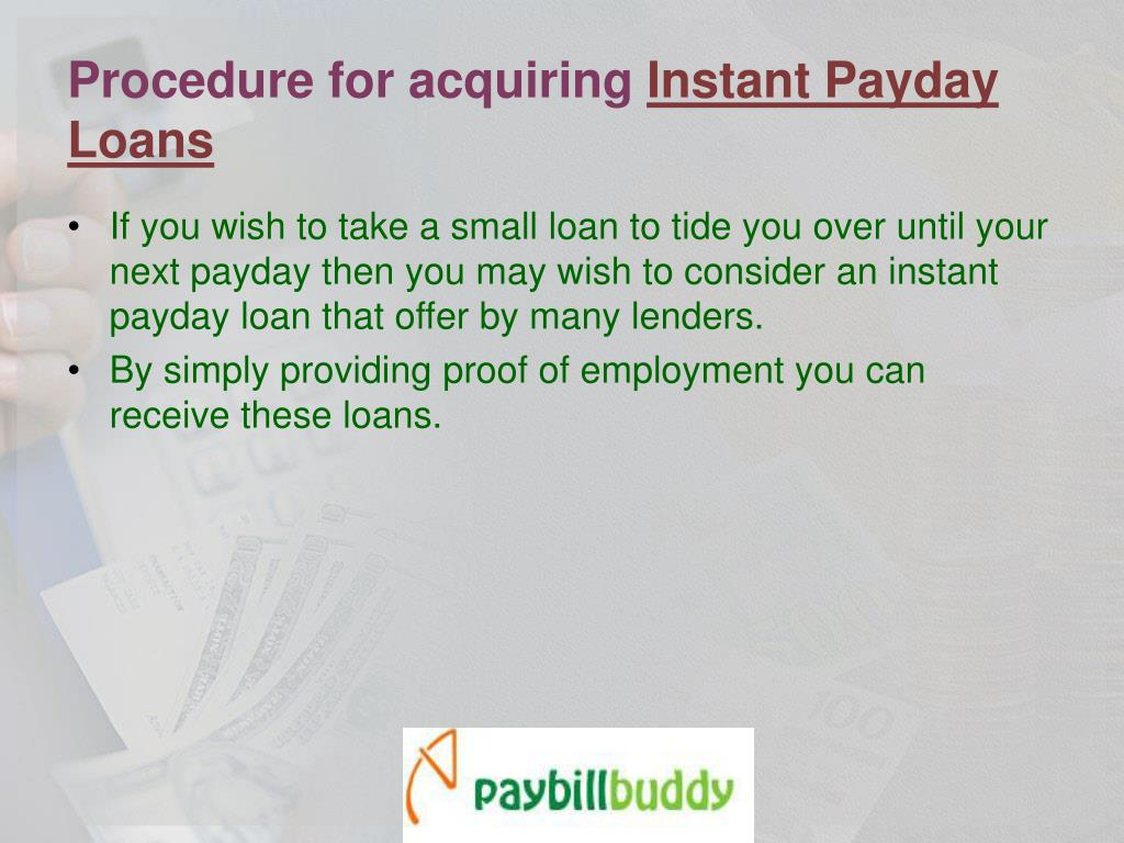 Procedure for acquiring