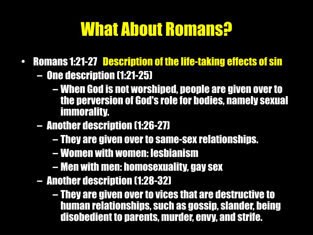 What About Romans?