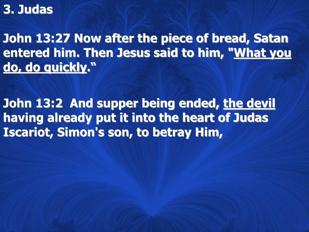 3. Judas