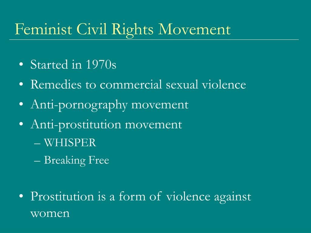 Feminist Civil Rights Movement