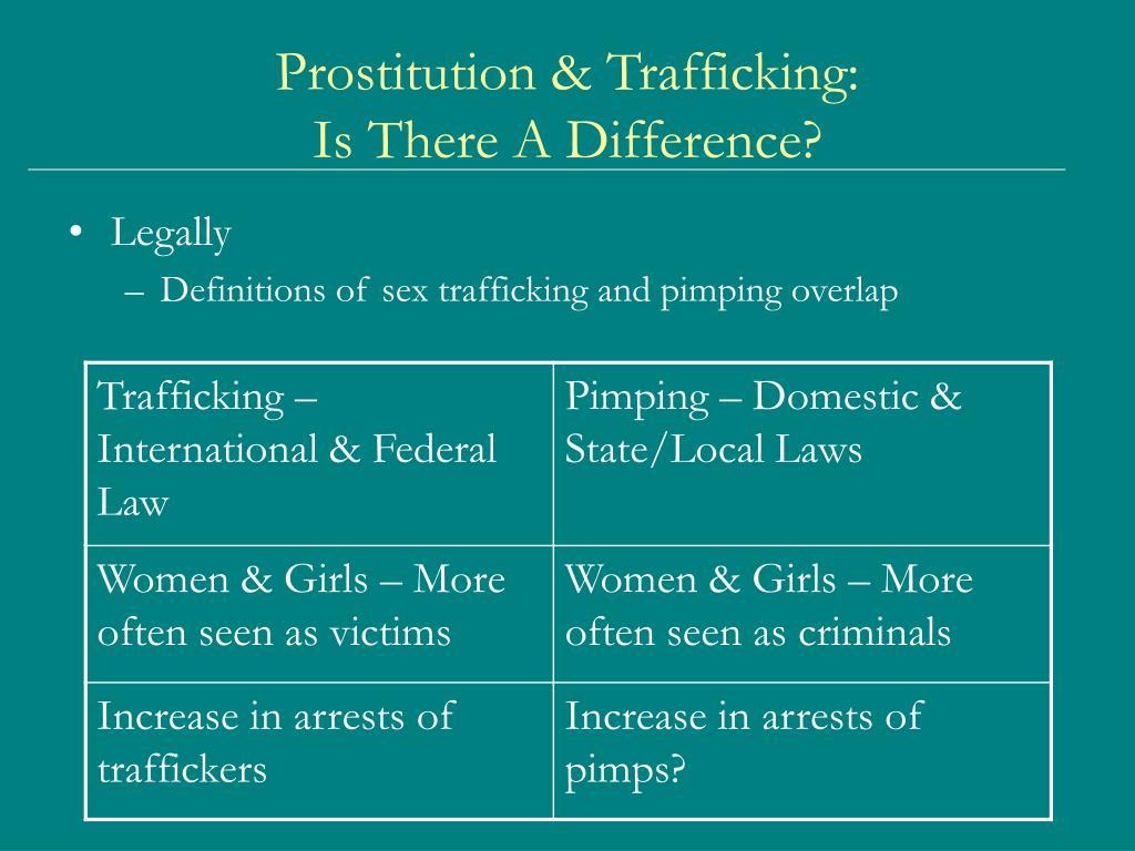 Prostitution & Trafficking: