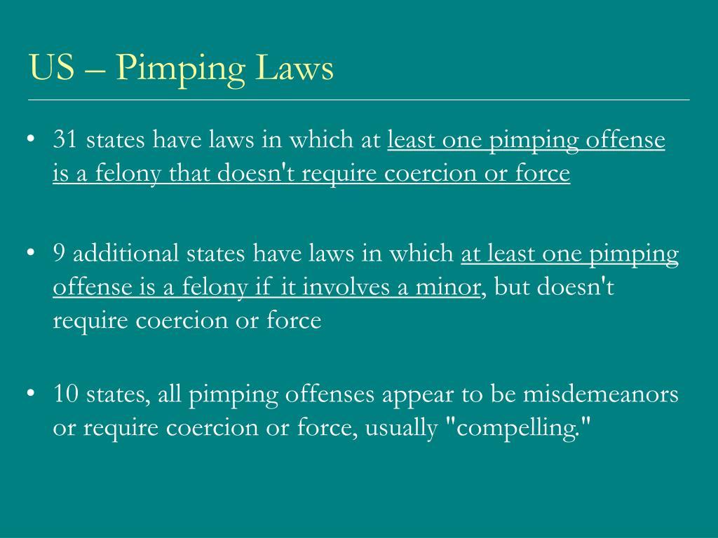 US – Pimping Laws