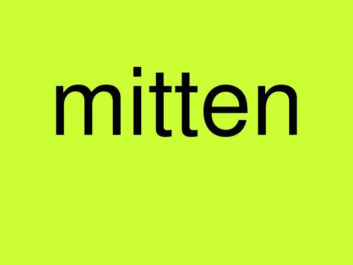 mitten