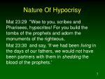 nature of hypocrisy3