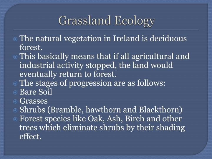 Grassland Ecology