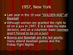 1957 new york