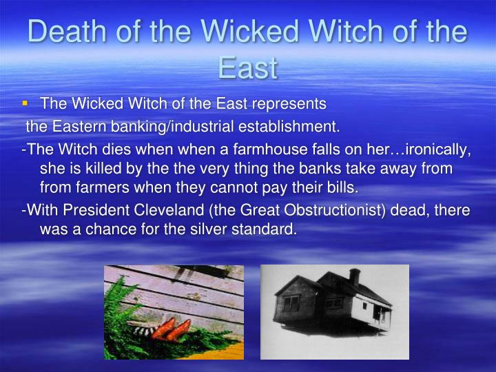 Death of the Wicked Witch of the East