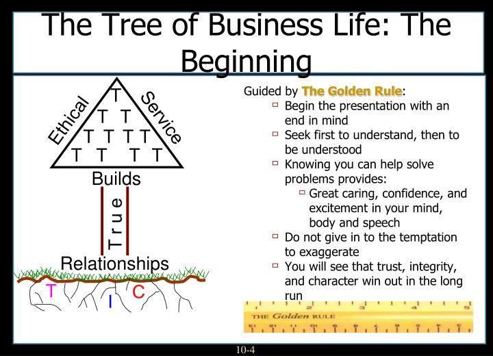 The Tree of Business Life: The Beginning