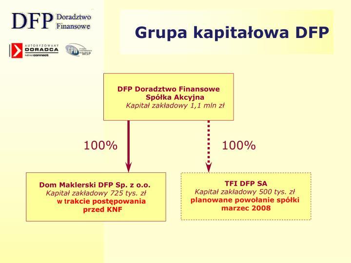 Grupa kapitałowa DFP