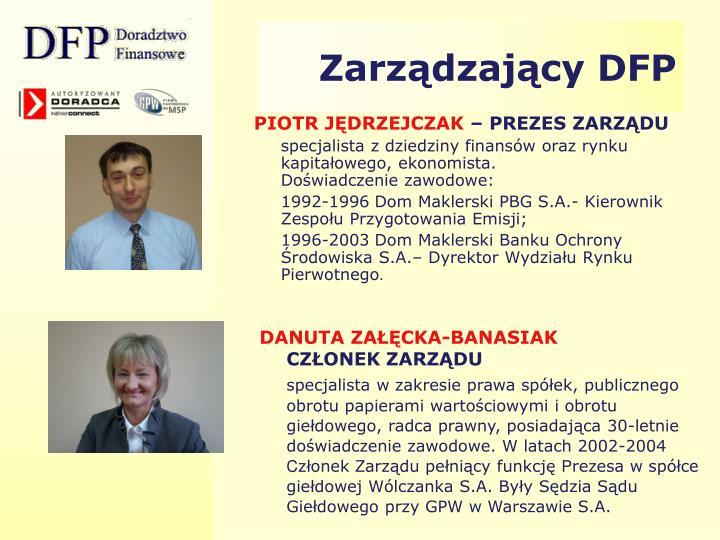 Zarządzający DFP