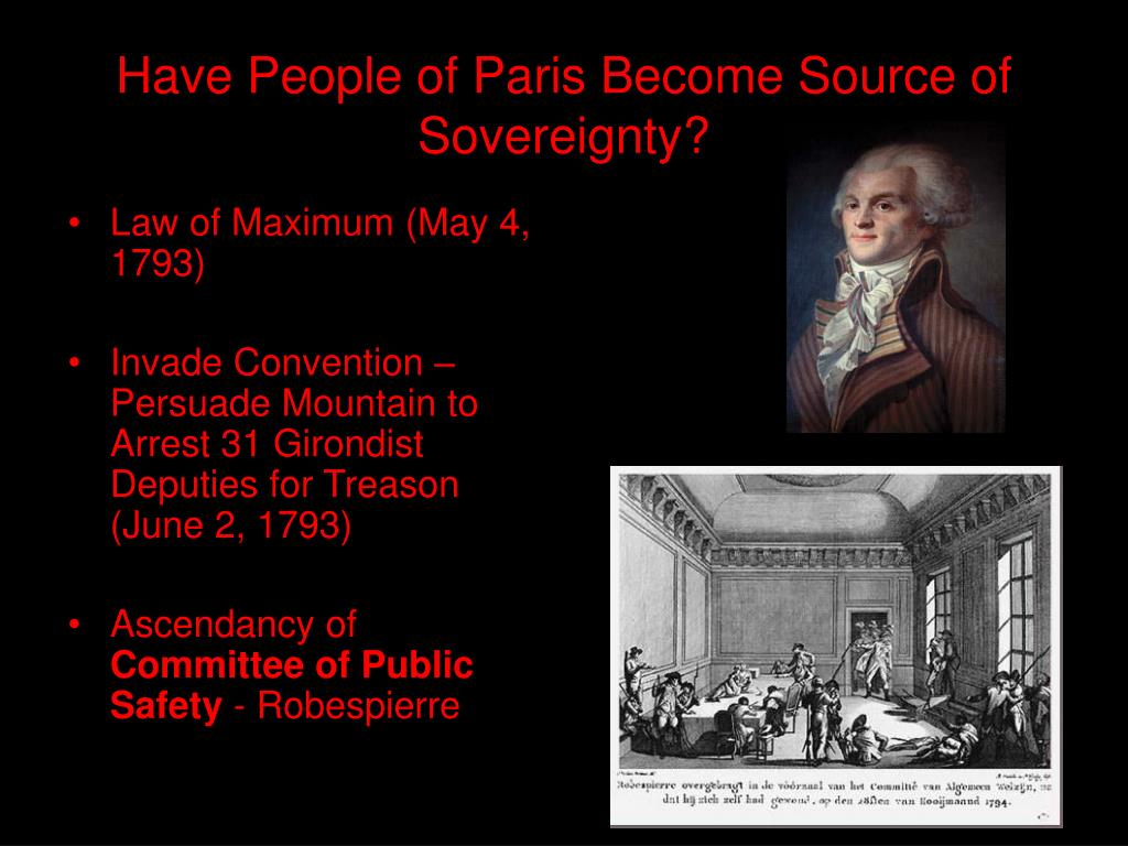 Have People of Paris Become Source of Sovereignty?