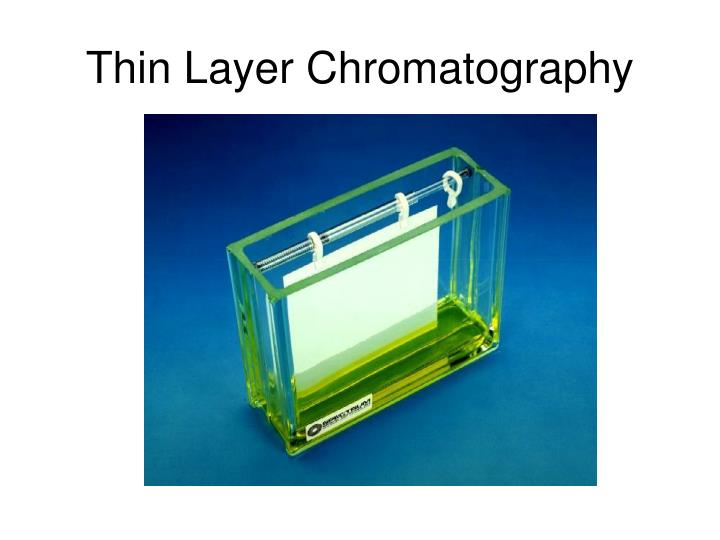 thin layer chromatography coursework Thin-layer chromatography (tlc) is a chromatography technique used to separate non-volatile mixtures thin-layer chromatography is performed on a sheet of glass.
