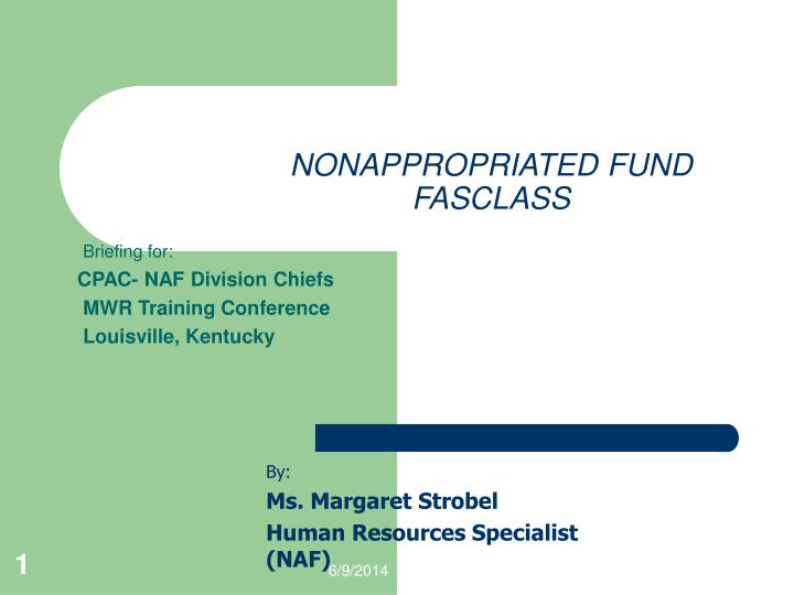 NONAPPROPRIATED FUND