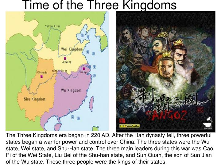 Time of the Three Kingdoms