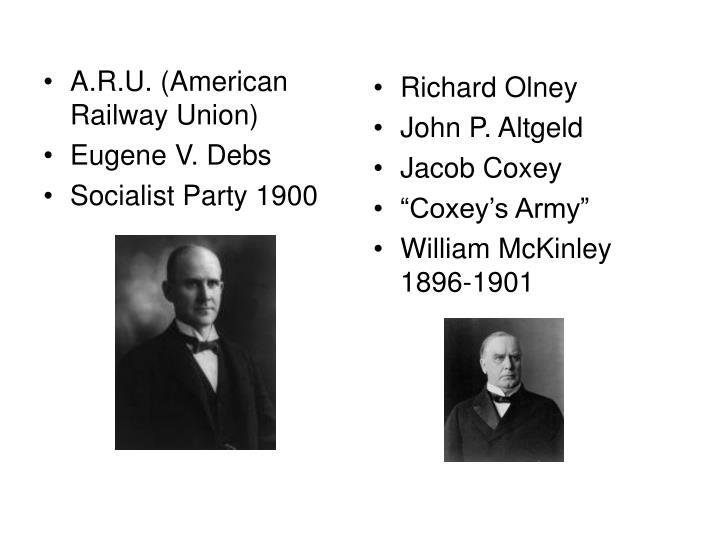 A.R.U. (American Railway Union)