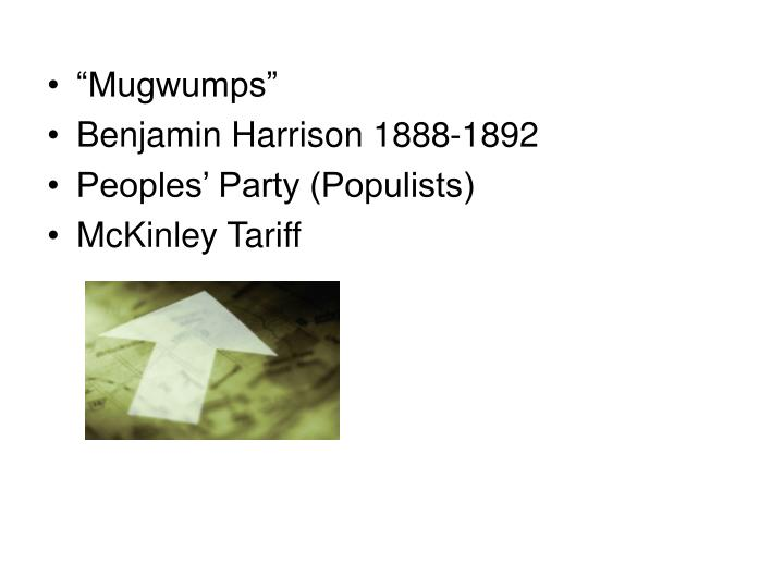 """Mugwumps"""