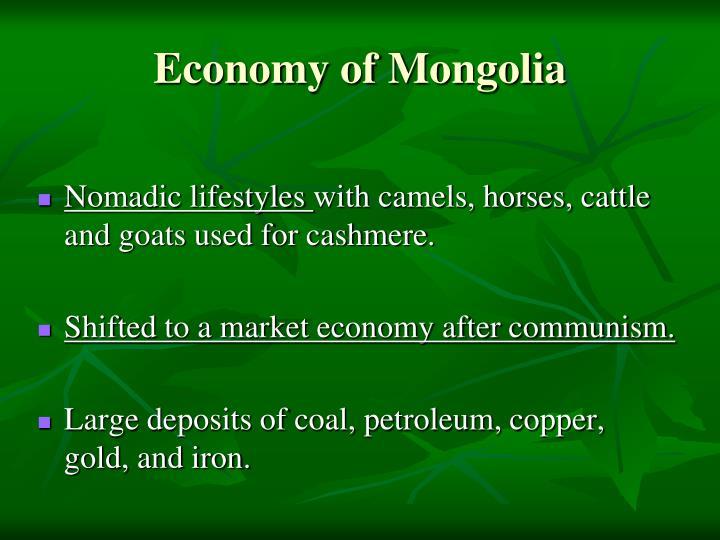 Economy of Mongolia