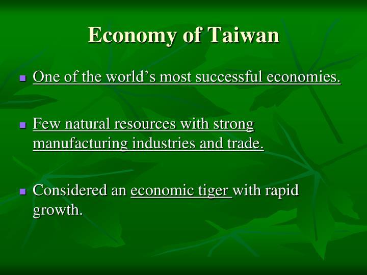 Economy of Taiwan