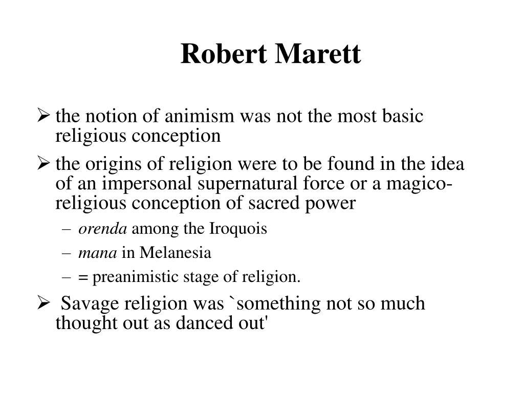 Robert Marett