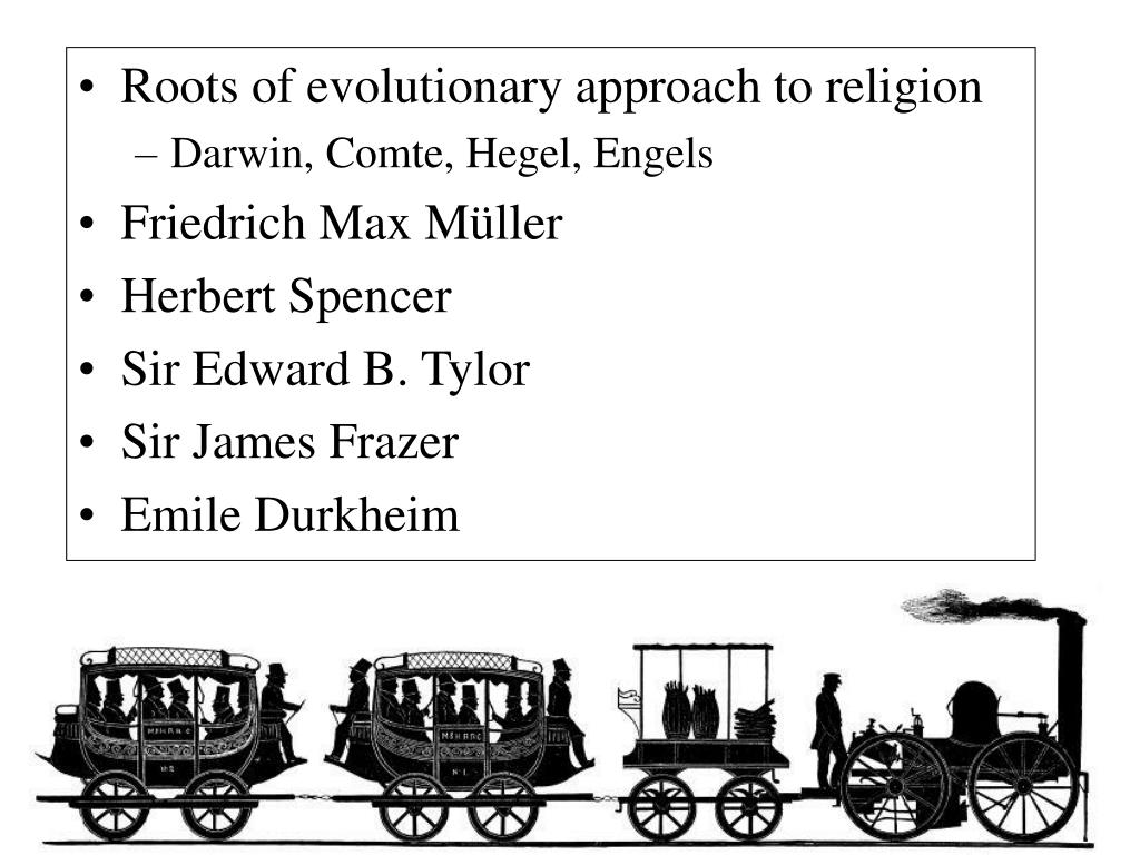 Roots of evolutionary approach to religion