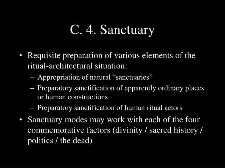 C. 4. Sanctuary