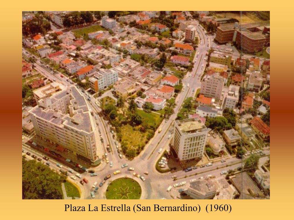 Plaza La Estrella (San Bernardino)  (1960)