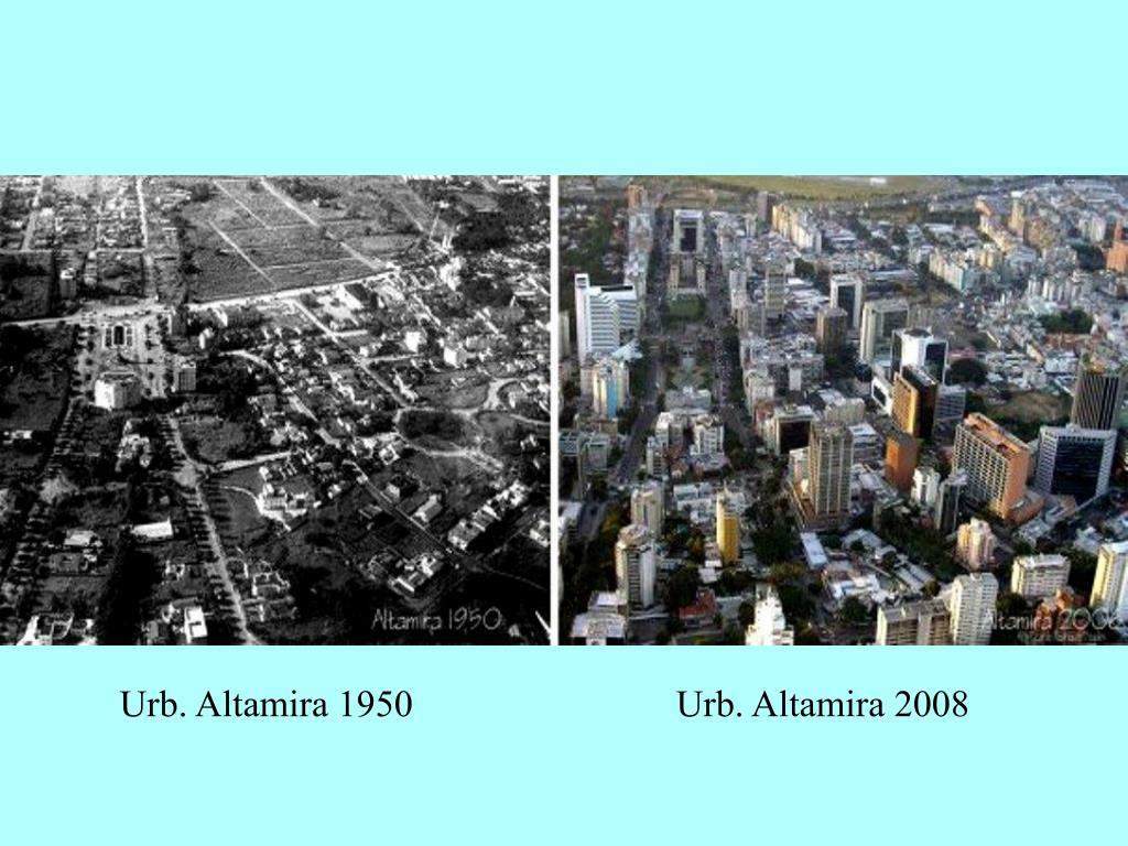 Urb. Altamira 1950                            Urb. Altamira 2008