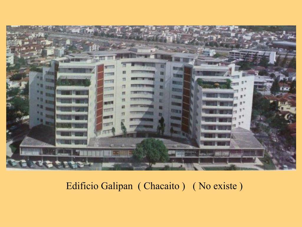 Edificio Galipan  ( Chacaito )   ( No existe )