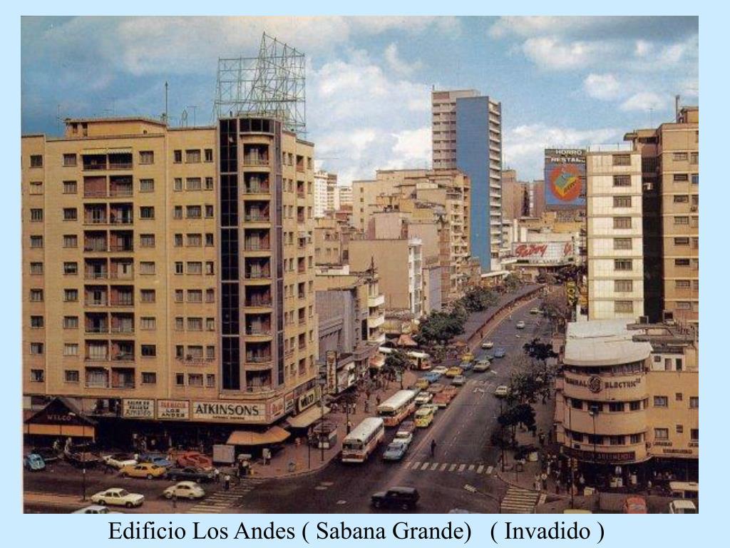 Edificio Los Andes ( Sabana Grande)   ( Invadido )