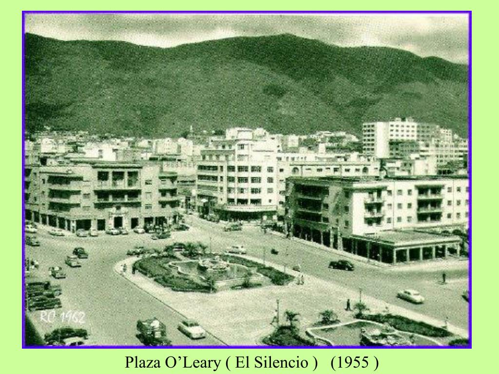 Plaza O'Leary ( El Silencio )   (1955 )