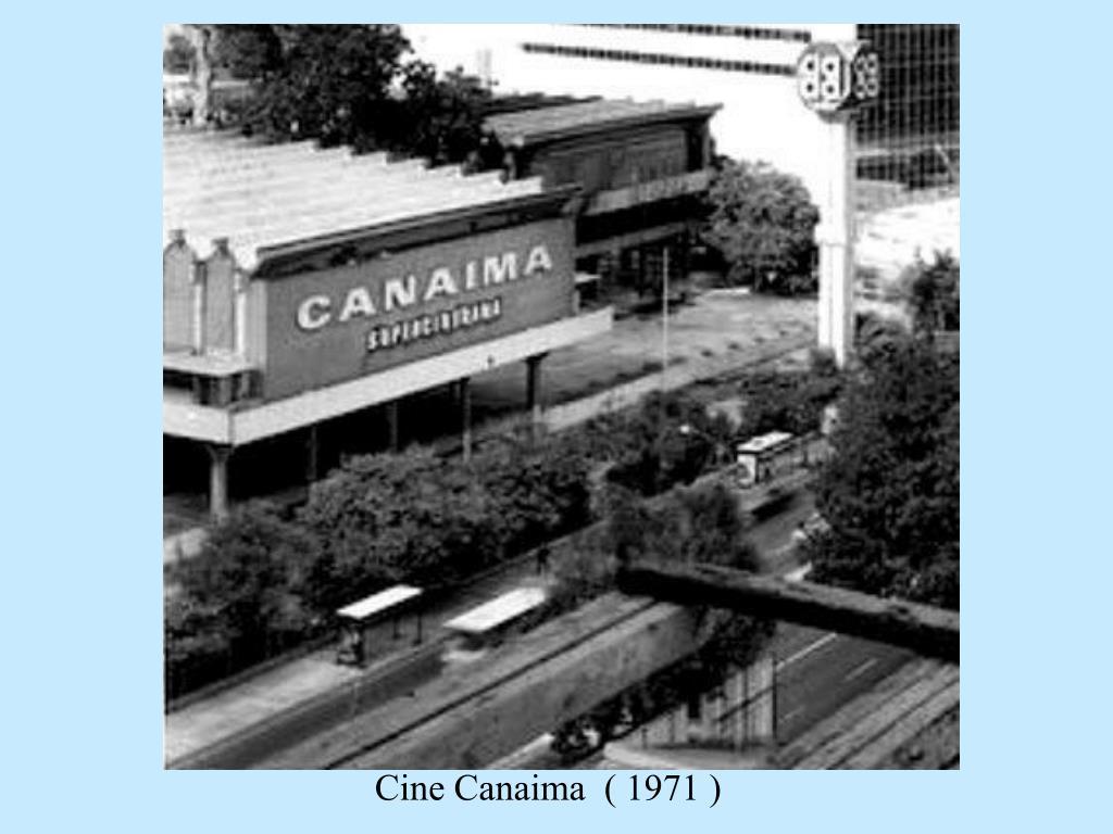 Cine Canaima  ( 1971 )