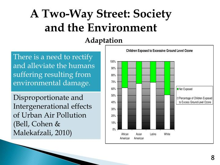 A Two-Way Street: Society and the Environment