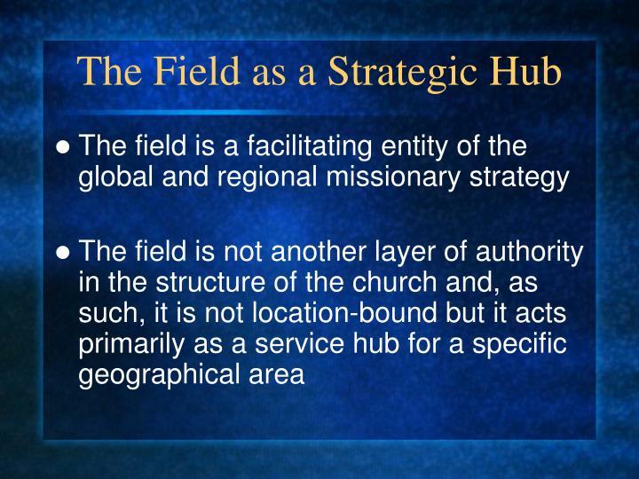 The Field as a Strategic Hub