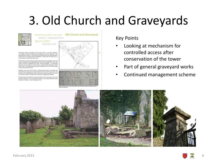 3. Old Church and Graveyards