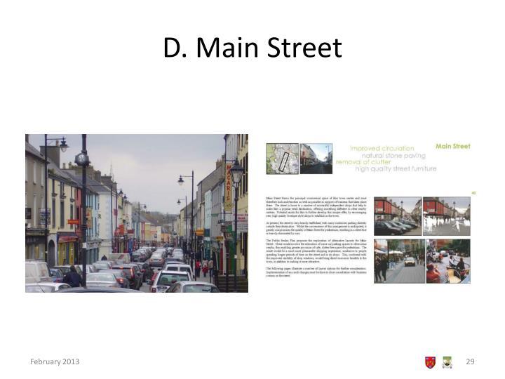 D. Main Street